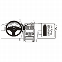 Brodit center mount v. Opel Astra 98-03