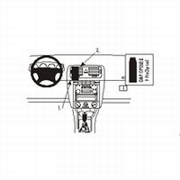 Brodit center mount v. Scoda Fabia 00-03