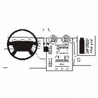 HUMMER H2 03- PROFESSIONAL DASHMOUNT CENTER MOUNT