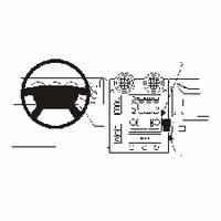 HUMMER H2 03- PROFESSIONAL DASHMOUNT ANGLED