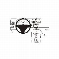 Brodit center mount v. Volvo C70 06-07