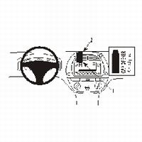 Brodit center mount voor Toyota Rav 4 01-03