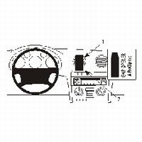 Brodit center mount v. Audi A3 03-06