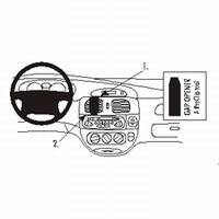 Brodit center mount v. Renault Scenic 00-03