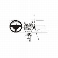 Brodit angled mount v. VW Beetle 98-
