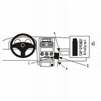 Brodit angled mount v. Opel Astra 98-03