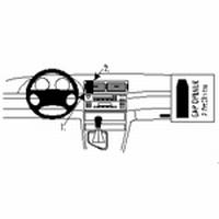 Brodit center mount v. BMW 316-330/M3 E46 98-05