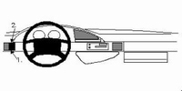 Brodit left mount v. Peugeot 806 95-01