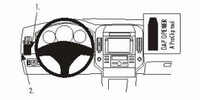 Brodit left mount v. Toyota Verso 04-09