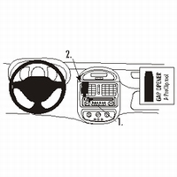 Brodit center mount v. Renault Clio 99-01