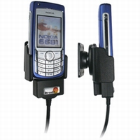 Brodit houder voor kabelconnectie CA-27 v. Nokia 6680/6681