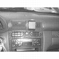 Brodit angled mount v.Mercedes Benz C-klasse 00-06 180/320