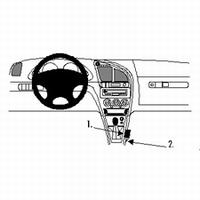 Brodit console mount v. Citroën Xsara 98-04