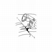 Brodit console mount v. Opel Omega 94-99