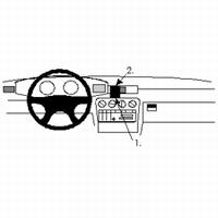 Brodit center mount v. Ople Omega 94-99