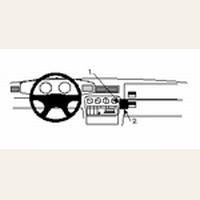 Brodit angled mount v. Opel Omega 94-99