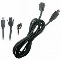 Brodit adapter kabel Molex Pin 4 voor Mini USB