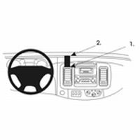 Brodit center mount v. Renault Traffic 02-09