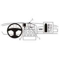 Brodit center mount v. VW Golf III 92-98