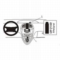 Brodit center mount v. Citroën Xsara Picasso 00-08