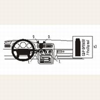 Brodit center mount v. Volvo S70 97-00