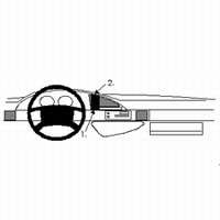 Brodit center mount v. Citroen Evasion 95-01