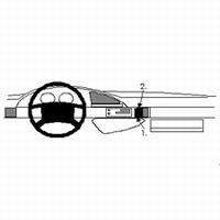 Brodit angled mount v. Citroen Evasion 95-01