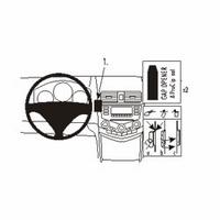 Brodit center mount v. Honda Accord 03-07