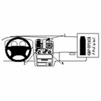 Brodit center mount v. Toyota Avensis 98-02