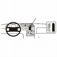 Brodit center mount v. Peugeot Boxer 95-01