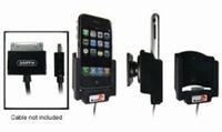 Brodit draaib. houder met kabelconnectie v. Apple iPhone 2G