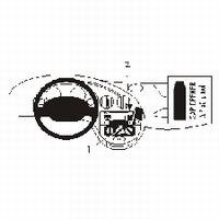 Brodit angled mount v. Ford Ka 97-04