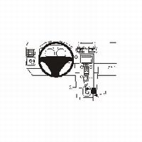 Brodit console mount v. Volvo S40 04-
