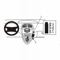 Brodit angled mount v. Citroën Xsara Picasso 00-08