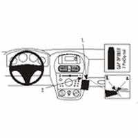 Brodit angled mount v. Opel Corsa 01-06
