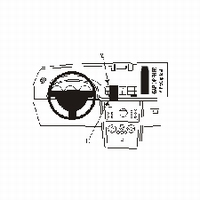 Brodit center mount v. Opel Meriva 03-10
