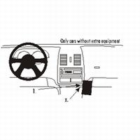 Brodit angled mount v. VW Lupo 99-04