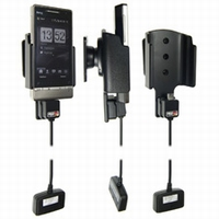 Brodit act.houd.met 3-in-1 adapter v.HTC Touch Diamond 2