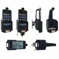 Brodit draaib.pass.houder m.connector v.Iphone 3G/3GS horiz.
