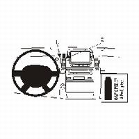 Brodit center mount v. Toyota Prius 04-09