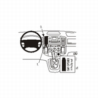 Brodit center mount v. Toyota Corolla Verso 02-04