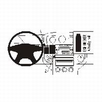Brodit center mount v. Nissan X-trail 04-