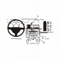 Brodit center mount v. Mazda 2 03-07