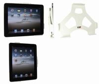 Brodit muursteun voor Apple iPad 1 horizontaal - wit
