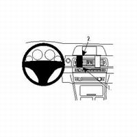 Brodit center mount v. BMW 5 Series F10, F11 10-