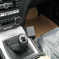 Brodit console mount v.Mercedes Benz C-Class (180-320) 11-14
