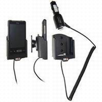 Brodit draaib. houder actief met laadkabel v. HTC HD Mini