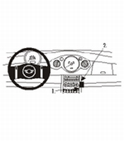 Brodit angled mount v. Mini Cooper 01-06