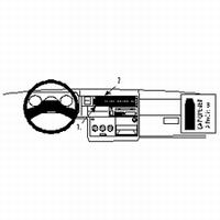 Brodit center mount v. VW Transporter 96-02