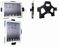 Brodit draaibare pass.houder met conn. houder v iPad 2/New